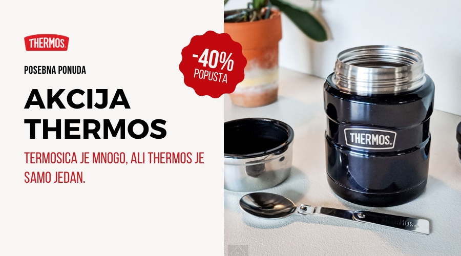 Akcija Thermos - uštedite do 40%